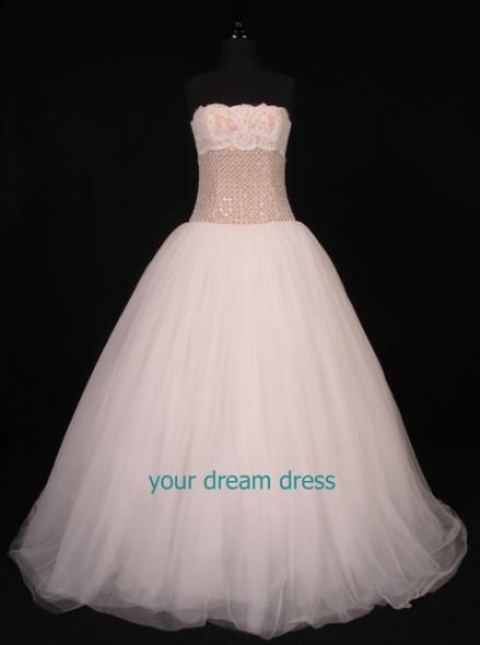 Monique Lhuiller 'Starlight' Dress. As worn in A Cinderella Story by Hilary Duff