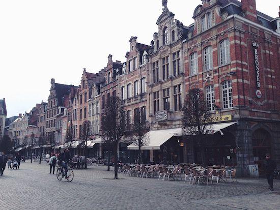 Oude Markt - Leuven, Belgium
