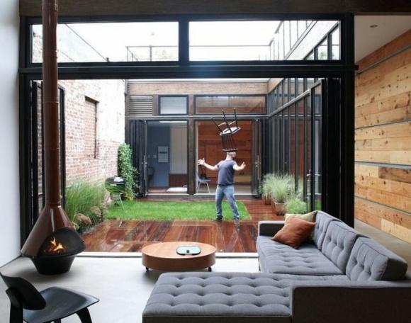 Courtyard Design ideas // Great Gardens & Ideas //