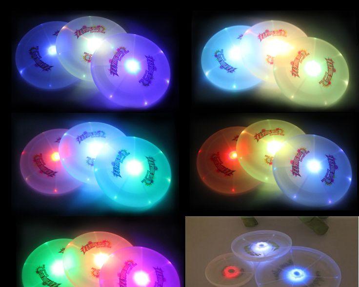 LED Glow Light Up Flashing Frisbee Disc