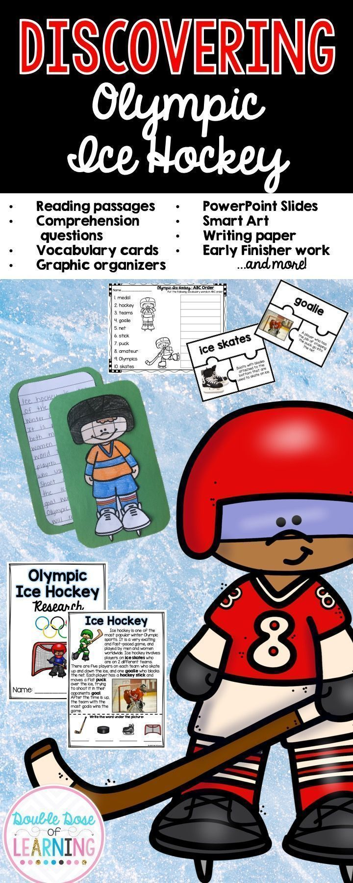 24 best sports images on pinterest olympic games olympic idea get ready for the 2018 winter olympics and teach your students all about olympic ice buycottarizona Image collections