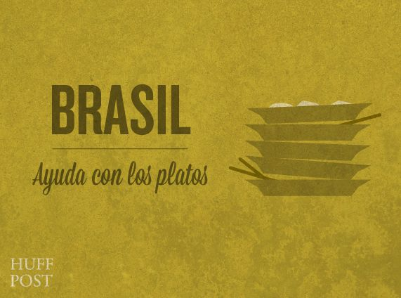 Discovery | Costumbres alrededor del mundo | The Huffington Post nos presenta algunas de las costumbres en torno a la mesa en distintos países. ¡Protocolos a tener en cuenta! | Brasil
