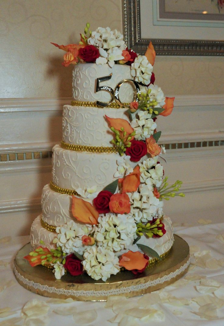 10 Best 50th Anniversary Centerpieces Images On Pinterest Weddings 50th Wedding Anniversary