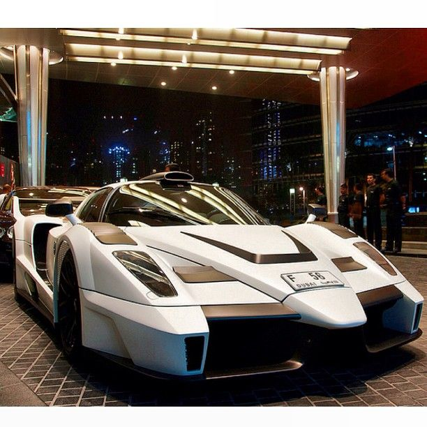 Gemballa MIG-U1 ready to race the streets of Dubai
