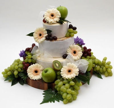 Cheese Wedding Cakes... ~ Hot Chocolates Blog
