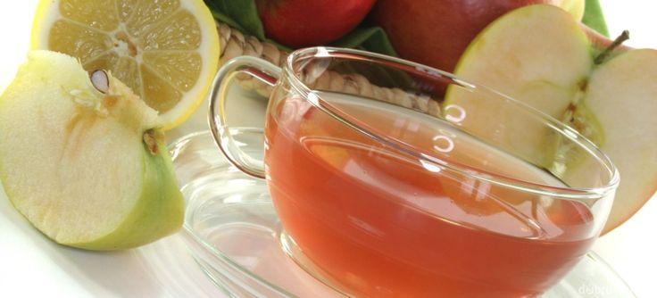 Domáci jablkový čaj