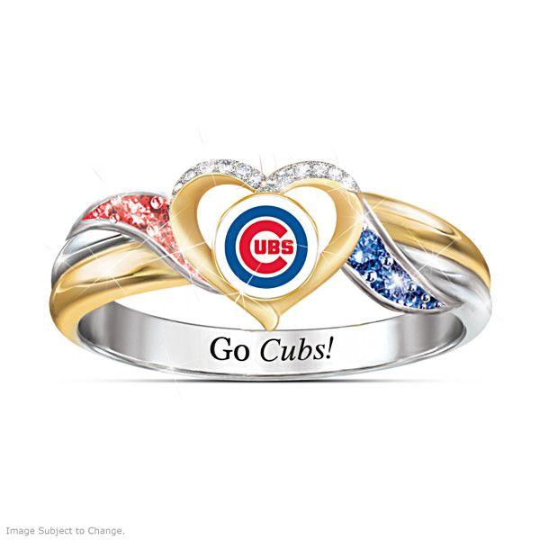 Chicago Cubs Pride Ring