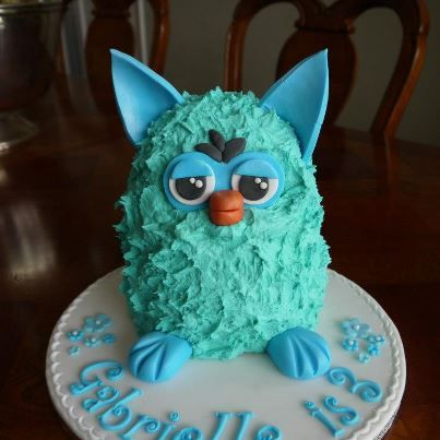 The 10 Best Images About Furby Cakes On Pinterest Models