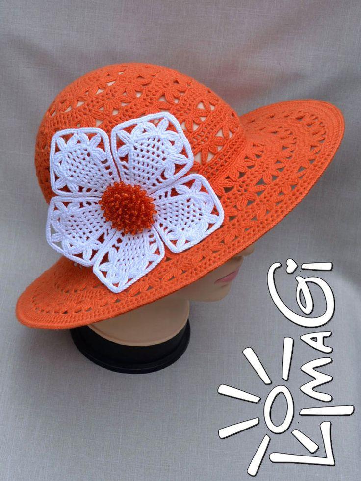 Шляпа «Лето апельсинового цвета» | Шапомания и я