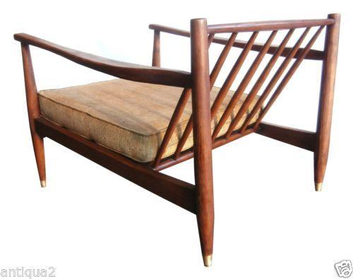 Swanky 60s Mod Danish Walnut Mid Century Modern Sculptural Arm Lounge Chair    eBay  875 0013 best Midcentury furniture images on Pinterest   Mid century  . Mid Century Modern Chairs Ebay. Home Design Ideas