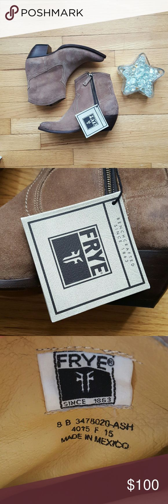 NEW Frye Sacha Short Ash Boot Size: 8 NWOB. Never worn! Size: 8 Frye Shoes Ankle Boots & Booties