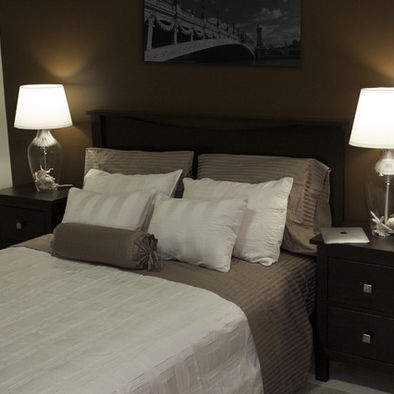 17 best ideas about chocolate bedroom on pinterest brown master bedroom brown bedroom decor - Deco kamer bruin ...