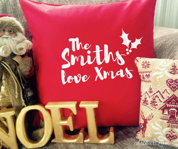 Christmas Cushion,Xmas Cushion Cover,Personalised Cushion,Family Cushion,Christmas Decorations,Christmas Decor,Christmas Gifts,Funny Cushion