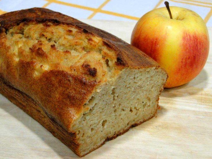 receta de bizcocho de manzana sin azúcar apto para diabéticos