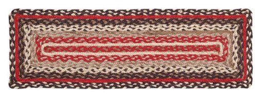"""Tacoma Jute Stair Tread Rectanglar 8.5x27"""" by Victorian Heart. $11.20. Extensive line of matching items and accessories available! (Search by Collection name). High end quality and workmanship!. All cloth items in our collections are 100% preshrunk cotton. All braided items (like rugs, baskets, etc.) are 100% jute. Product measurements and additional details listed in title and/or Product Description below.. See Product Description below for more details!. 100% Jute"""