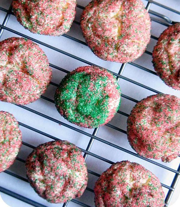 Holiday Vanilla Pudding Cake Cookies | RecipeLion.com