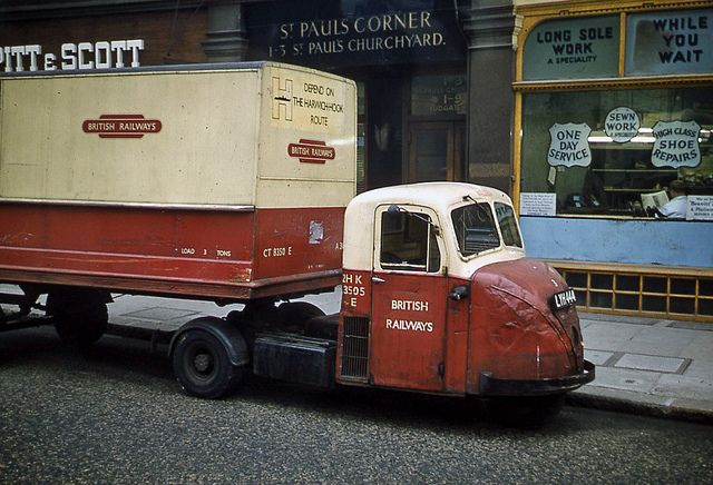British Railways Delivery Truck: St Pauls 1962. I like, where can I get one.