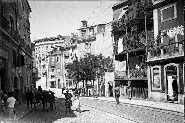 Lisboa de Antigamente: Rua de São Tomé (antiga do Infante D. Henrique)