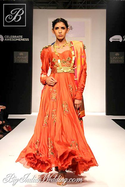 Harshita Chatterjee Deshpande's Collection at Lakme Fashion Week, Winter-Festive 2013 #salwaar kameez #chudidar #chudidar kameez #anarkali #anarkali suits #dress #indian #outfit #shaadi #bridal #fashion #style #desi #designer #wedding #gorgeous #beautiful
