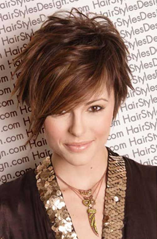Messy Layers for Short Hair