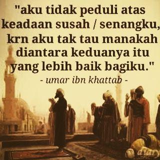 Para Pemimpin Belajarlah Dari Khalifah Umar bin Khattab ~ Lentera Kehidupan