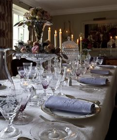41 best Crystal China images on Pinterest | Place settings, Table ...