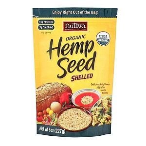 I have done a lot of reading on  Organic Hemp, in either shelled or powder form and it sounds awesome for protein and fiber in your diet. Going to give this a try... oh and no you can not get high from this, the cannabis seed contain NO mind altering side effects...