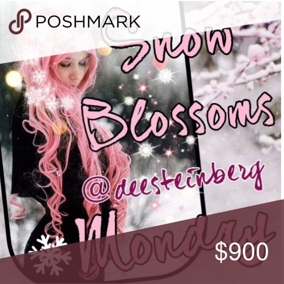Monday 10/10 snow blossoms share group ❄️❄️ ❄️Please share 5 Winter items from each closet. ❄️Choose from jackets, gloves, scarves, sweaters, jeans, boots, etc!  ❄️❄️Choose only one category❄️❄️ ❄️Share times 9am to 12midnight ❄️Sign up closes at noon Pacific (3ET)  ❄️Share before midnight your time ❄️Thanks and let's have fun sharing!                      If you have any questions please tag your hostess @deesteinberg and not the closet @hot_pink_mamas. Your comments might be missed. Thank…
