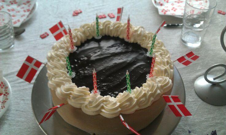 Kage til datters fødselsdag