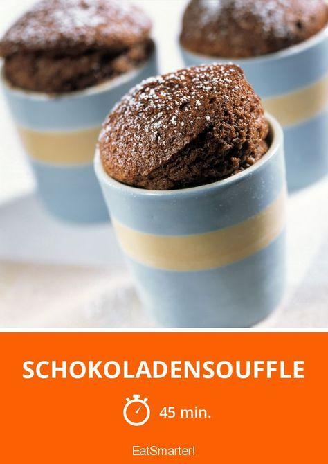 Schokoladensouffle - smarter - Zeit: 45 Min. | eatsmarter.de