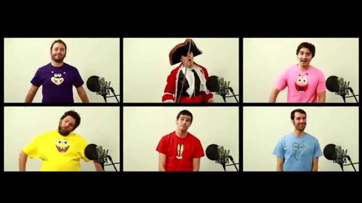 A Capella Cover of the Theme Song to the Animated TV Show 'SpongeBob SquarePants' by The Warp Zone & Joshua Ovenshire