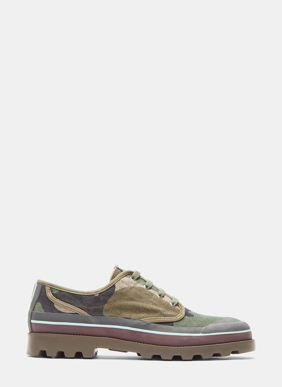 Men's Designer Trainers Shoes | Discover Now LN-CC - Camouflage Low-Top Sneakers