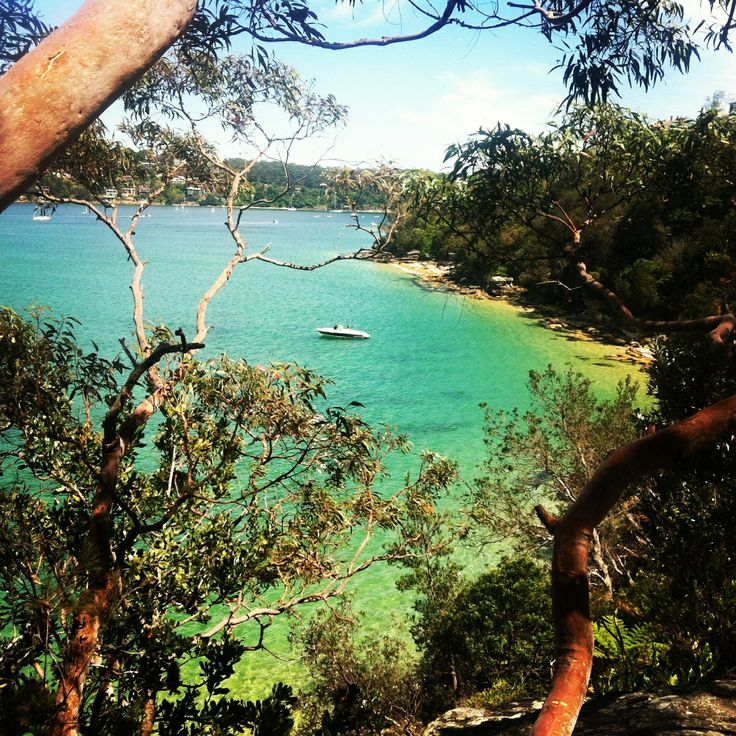 I love the colors of this hidden beach in balgowlah