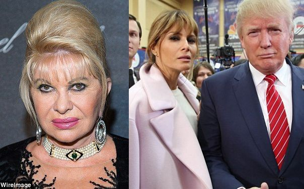 Donald Trump's ex-wife Ivana slams current wife Melanie, Says He's Not First Lady Type
