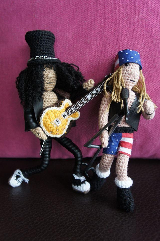 Axl Rose and Slash - www.facebook.com/IvkinKutak