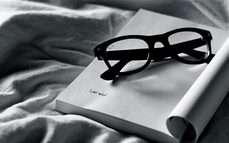 Book-iPad-wallpaper-Reading-Ray-Ban-Glasses.jpg 1,440×900 pixels