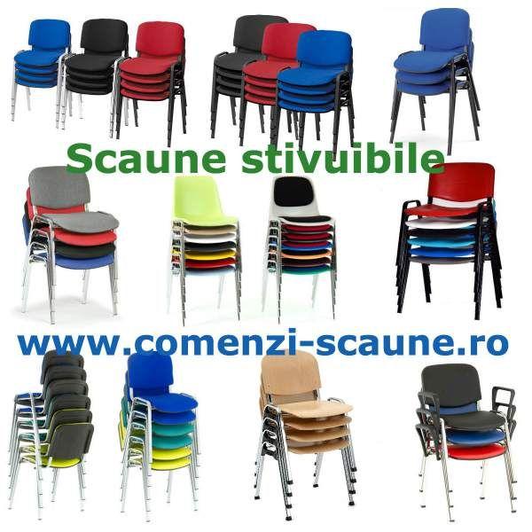 scaune-supreapozabile-stivuibile-color