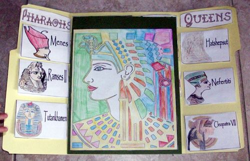Mystery of History Lapbook - Egypt (MOH Vol. 1)