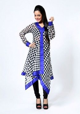 Check Me Out Assymetrical Georgette Tunic