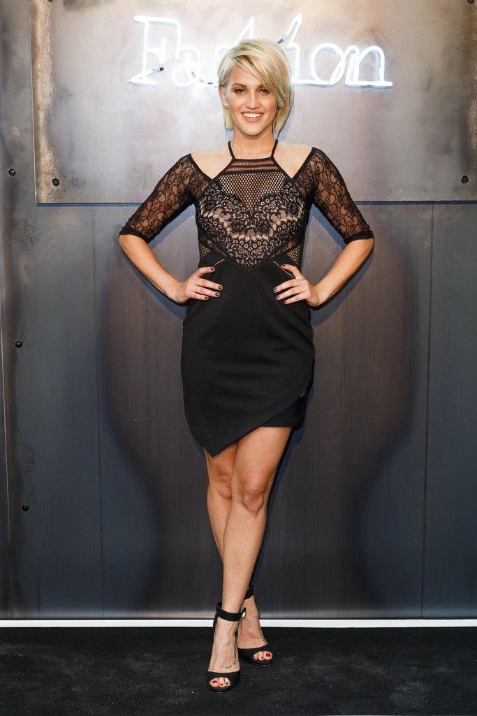 Ashley Roberts Little Black Dress - Ashley Roberts Looks - StyleBistro