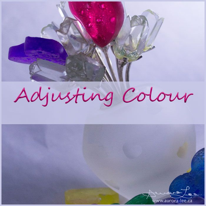 This month's photo editing tutorial is a simple one. I'll show you how to adjust colour in your photograph.