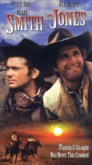 Alias Smith and Jones! I used to love this. I can remember asking my Dad which one alias was. I thought there should have been 3 of them - Alias, Smith and Jones.