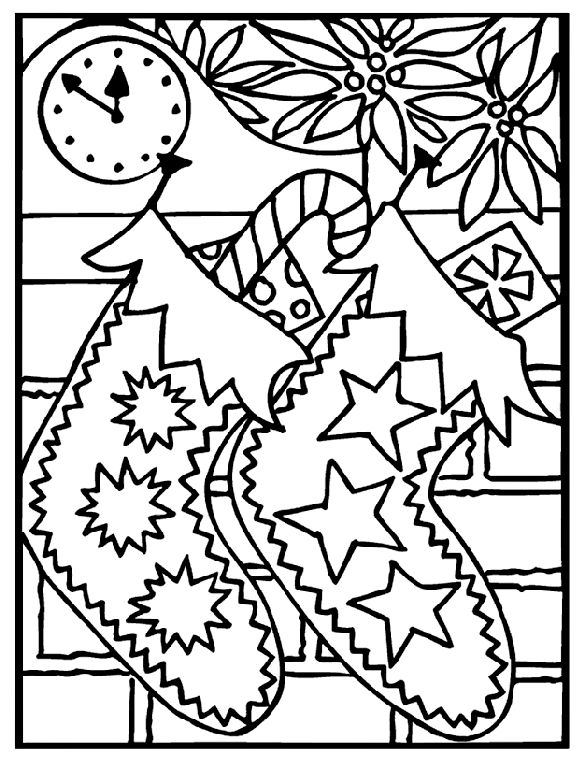 fill these christmas stocking coloring pages with beautiful colors to use these free printables as decorative items even your kids and chi