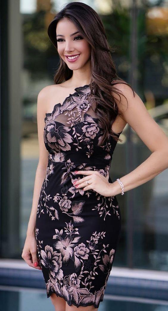 Dicas sobre como montar um look com um vestido curto – #Como # curto #de #Dicas # montar   – Carenter