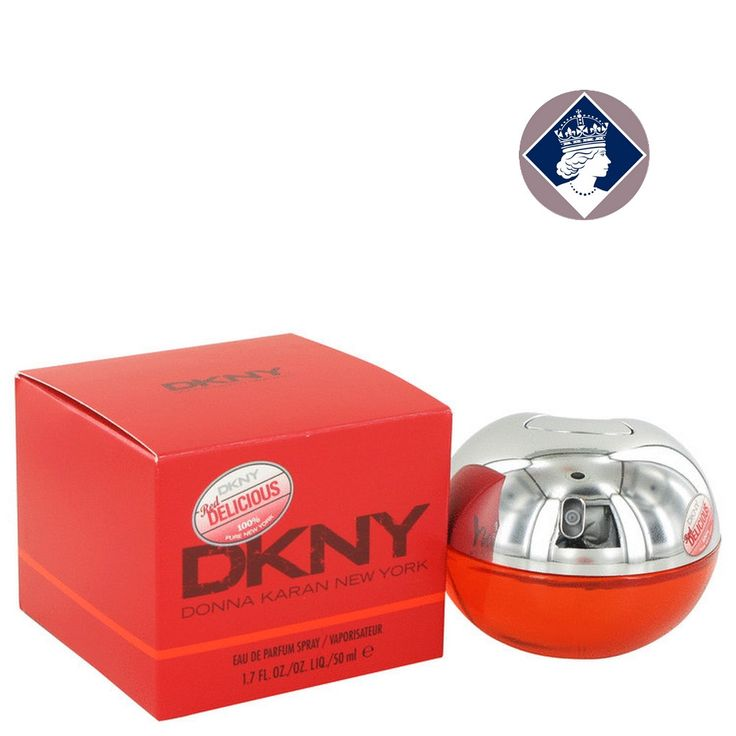 DKNY Red Delicious 50ml/1.7oz Eau De Parfum Spray EDP Perfume Fragrance for Her