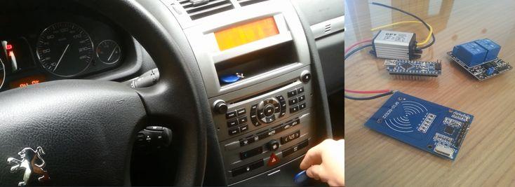Arduino RFID Car Starter