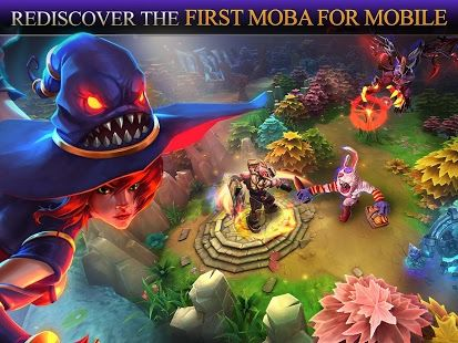 Heroes of Order & Chaos v3.6.1e [Mod] Requirements: 2.3 + Overview: Team up and fight with your friends in the first Multiplayer Online Battle Arena (MOBA) for mobile devices! Gather your teammates, strengthen your Heroes and wipe out the enemy base in thrilling, addictive and fast-paced ...