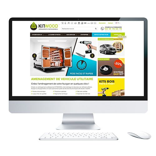 Participation au webdesign d'un site prestashop 1.6
