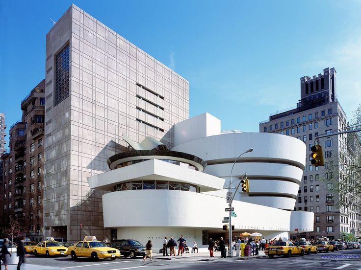 Frank Lloyd Wright. Solomon R. Guggenheim Museum, New York, New York.1959.
