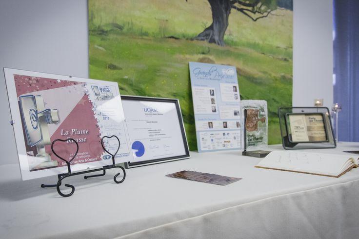 La Plume Rousse a reçu plusieurs prix et mentions.